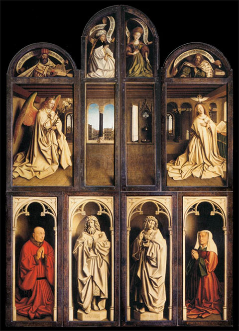 Ghent Altarpiece (closed)